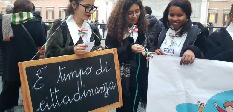 Ius soli e ius culture, il flashmob Saltamuri di dicembre a Roma